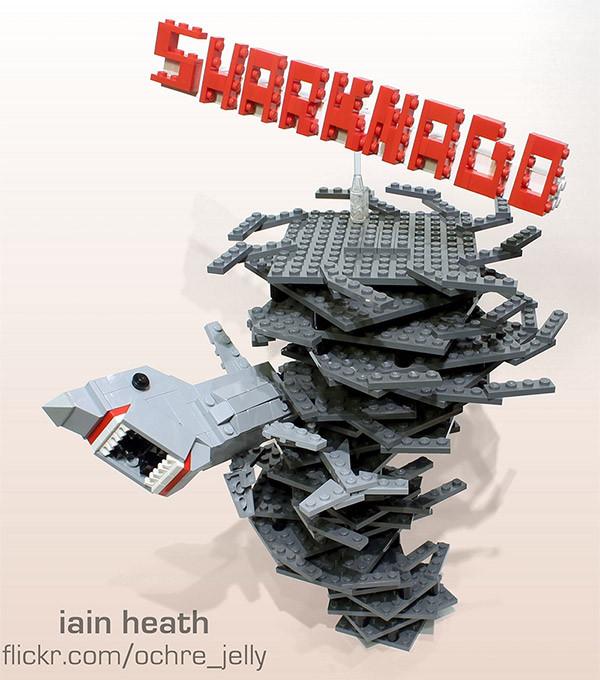 ZOMG LEGO Sharknado!